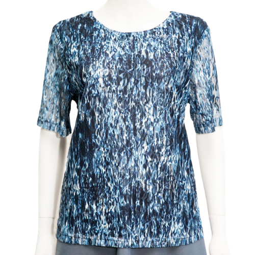 Renoma - New Ladies Lined Lace Look Top
